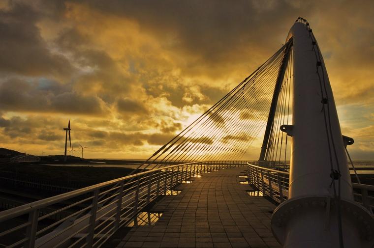 豎琴橋之美